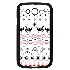 Ugly Christmas Humping Samsung Galaxy Grand DUOS I9082 Case (Black)