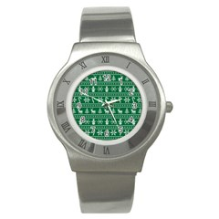 Ugly Christmas Stainless Steel Watch