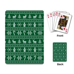 Ugly Christmas Playing Card