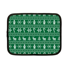 Ugly Christmas Netbook Case (Small)