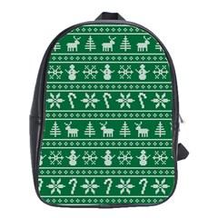 Ugly Christmas School Bags(Large)