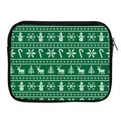 Ugly Christmas Apple Ipad 2/3/4 Zipper Cases