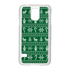 Ugly Christmas Samsung Galaxy S5 Case (White)