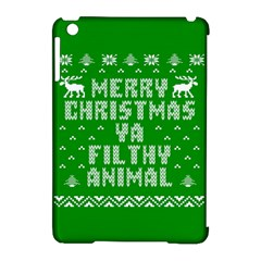 Ugly Christmas Sweater Apple Ipad Mini Hardshell Case (compatible With Smart Cover)