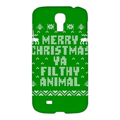 Ugly Christmas Sweater Samsung Galaxy S4 I9500/I9505 Hardshell Case