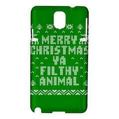Ugly Christmas Sweater Samsung Galaxy Note 3 N9005 Hardshell Case