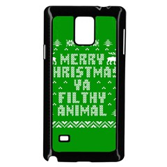 Ugly Christmas Sweater Samsung Galaxy Note 4 Case (Black)
