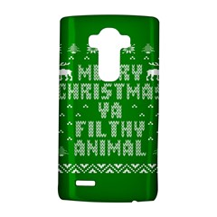 Ugly Christmas Sweater LG G4 Hardshell Case