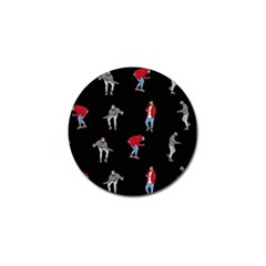 Drake Ugly Holiday Christmas Golf Ball Marker (4 pack)