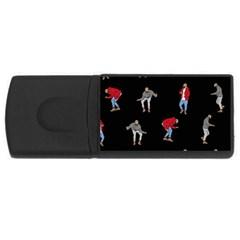 Drake Ugly Holiday Christmas USB Flash Drive Rectangular (4 GB)
