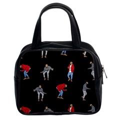Drake Ugly Holiday Christmas Classic Handbags (2 Sides)