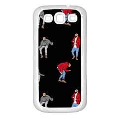 Drake Ugly Holiday Christmas Samsung Galaxy S3 Back Case (White)