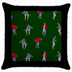 Drake Ugly Holiday Christmas Throw Pillow Case (Black)