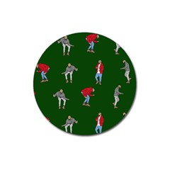 Drake Ugly Holiday Christmas Magnet 3  (Round)