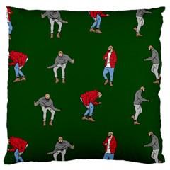 Drake Ugly Holiday Christmas Large Cushion Case (Two Sides)