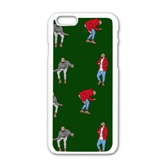 Drake Ugly Holiday Christmas Apple iPhone 6/6S White Enamel Case