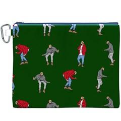 Drake Ugly Holiday Christmas Canvas Cosmetic Bag (XXXL)