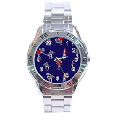 Drake Ugly Holiday Christmas Stainless Steel Analogue Watch