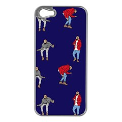 Drake Ugly Holiday Christmas Apple Iphone 5 Case (silver)