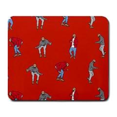 Drake Ugly Holiday Christmas Large Mousepads
