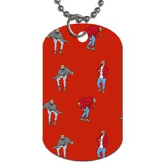 Drake Ugly Holiday Christmas Dog Tag (Two Sides)