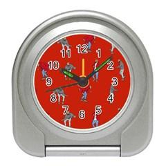 Drake Ugly Holiday Christmas Travel Alarm Clocks