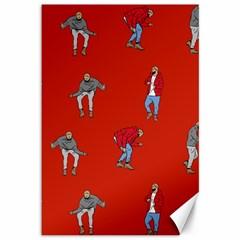 Drake Ugly Holiday Christmas Canvas 12  X 18