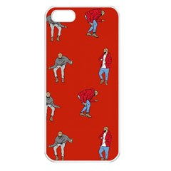Drake Ugly Holiday Christmas Apple Iphone 5 Seamless Case (white)
