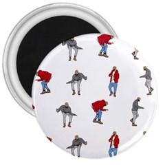 Drake Ugly Holiday Christmas 3  Magnets