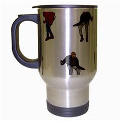 Drake Ugly Holiday Christmas Travel Mug (silver Gray)