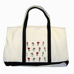 Drake Ugly Holiday Christmas Two Tone Tote Bag