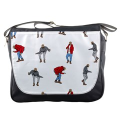 Drake Ugly Holiday Christmas Messenger Bags