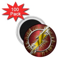 Flash Flashy Logo 1 75  Magnets (100 Pack)