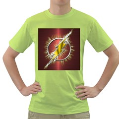 Flash Flashy Logo Green T-Shirt