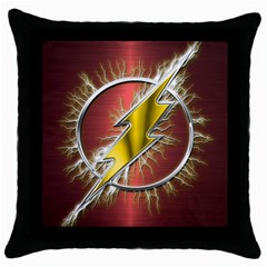 Flash Flashy Logo Throw Pillow Case (black)