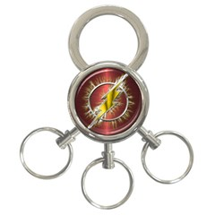 Flash Flashy Logo 3-Ring Key Chains