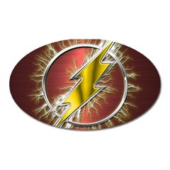 Flash Flashy Logo Oval Magnet
