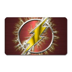 Flash Flashy Logo Magnet (Rectangular)