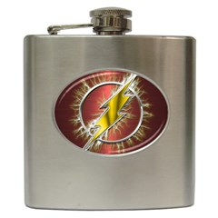 Flash Flashy Logo Hip Flask (6 oz)