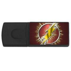 Flash Flashy Logo USB Flash Drive Rectangular (1 GB)