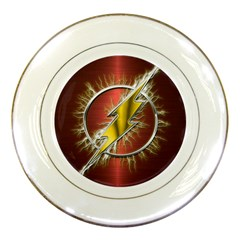Flash Flashy Logo Porcelain Plates
