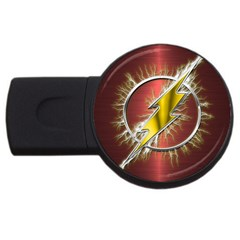 Flash Flashy Logo USB Flash Drive Round (4 GB)