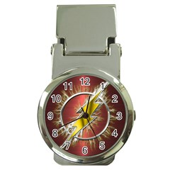 Flash Flashy Logo Money Clip Watches