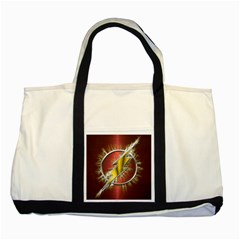 Flash Flashy Logo Two Tone Tote Bag