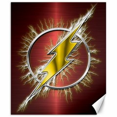 Flash Flashy Logo Canvas 20  x 24