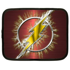 Flash Flashy Logo Netbook Case (Large)