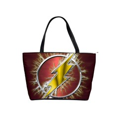 Flash Flashy Logo Shoulder Handbags