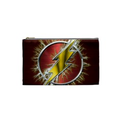 Flash Flashy Logo Cosmetic Bag (Small)