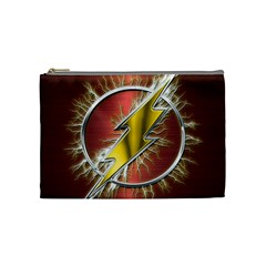 Flash Flashy Logo Cosmetic Bag (Medium)