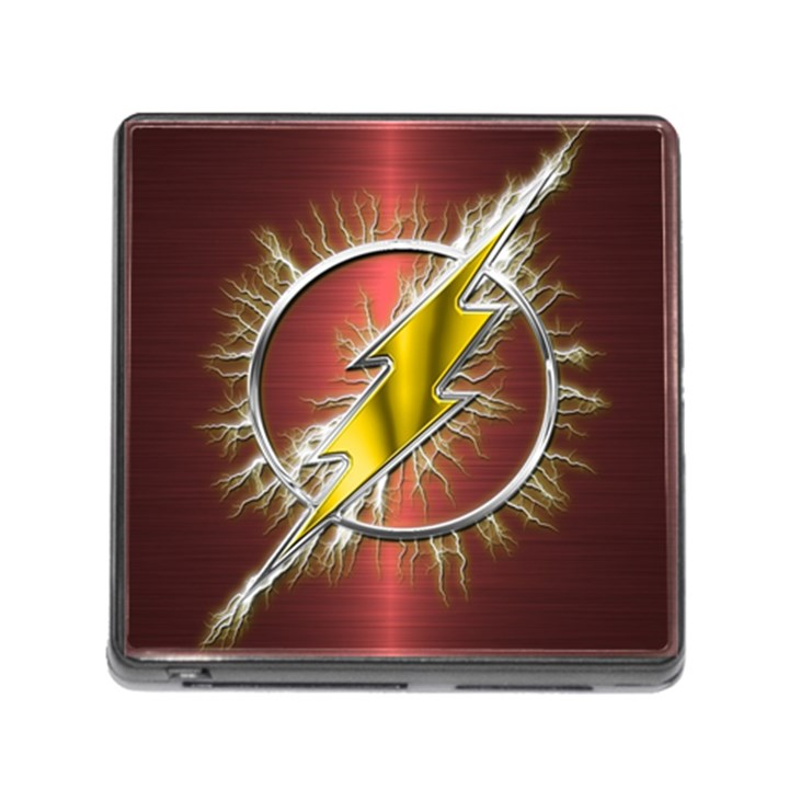 Flash Flashy Logo Memory Card Reader (Square)